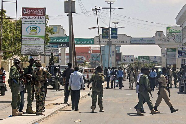 Somalia im Brennpunkt des Islamismus'