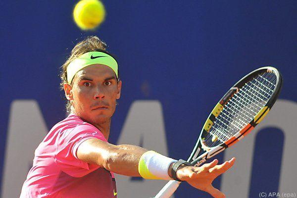 Nadal kann einen weiteren Rekord abhaken