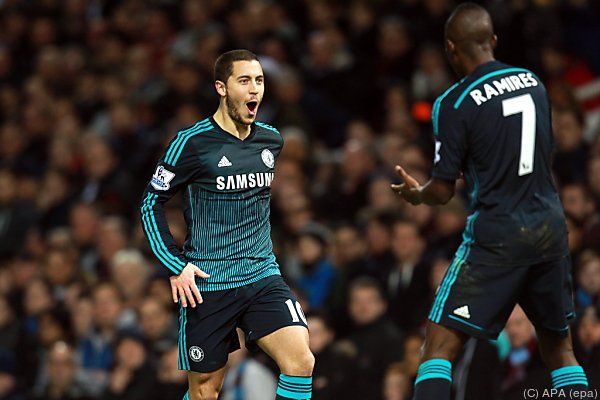 Chelsea schlug West Ham dank Eden Hazards Tor 1:0