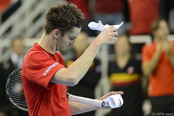 Schweizer Adrien Bossel verlor entscheidendes Einzelmatch