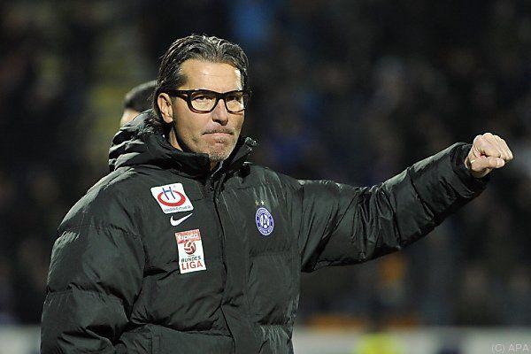 Baumgartner bleibt Austria-Trainer