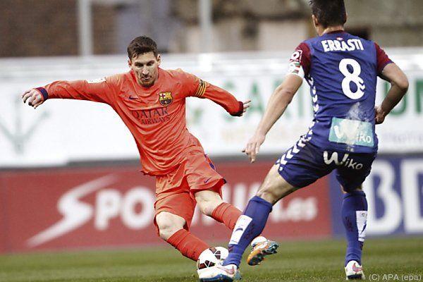 Lionel Messi machte einmal mehr den Unterschied