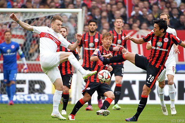 Stuttgart drehte Match gegen Frankfurt zum 3:1-Heimsieg