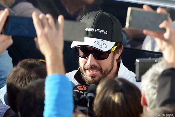 Alonso hat derzeit kein Siegerauto zur Verfügung
