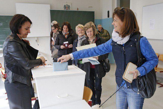 Über 250.000 Wahlberechtigte sind zur Landtagswahl im Burgenland aufgerufen.
