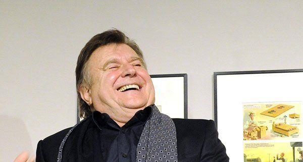 """Lukas Resetarits präsentierte sein neues Kabarettprogramm """"Schmäh"""" im Wiener Stadtsaal."""