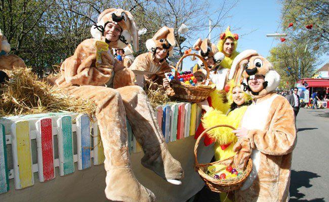 Am Ostersonntag wird im Wiener Prater gefeiert.
