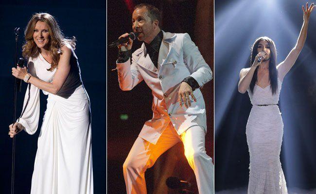 Celine Dion, DJ Bobo und Conchita Wurst standen schon auf der ESC-Bühne.