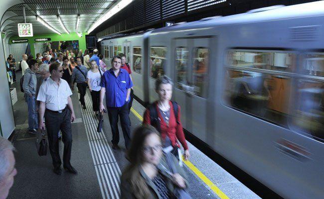 In der U4 Station Margaretengürtel wurde der Mann von der Polizei entdeckt.