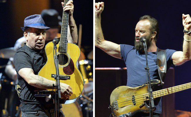 Sting & Paul Simon begeisterten in Wien