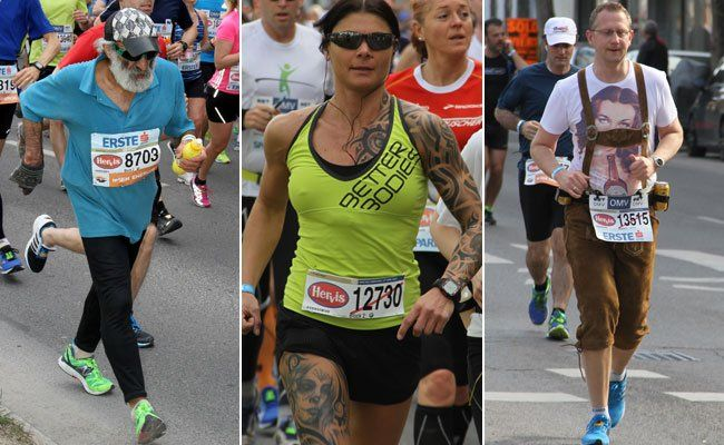 Wien im Lauffieber beim Marathon