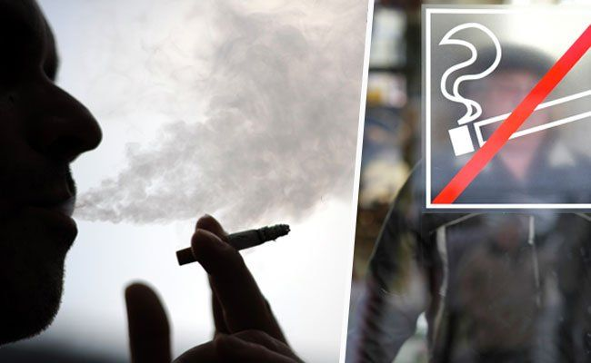 Generelles Rauchverbot - Wirte demonstrieren vor dem Parlament