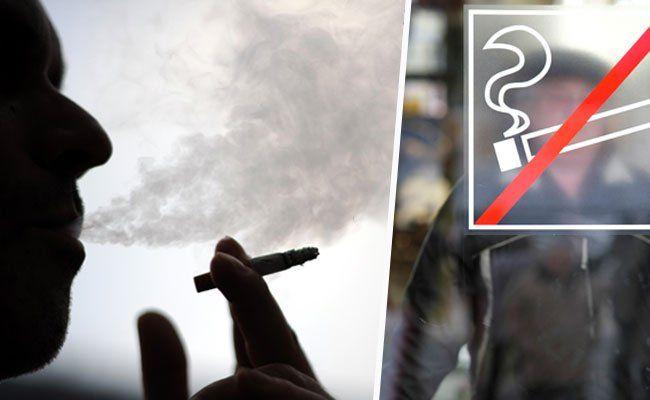 Rauchverbot ab Mai 2018: Wirte demonstrieren vor dem Parlament