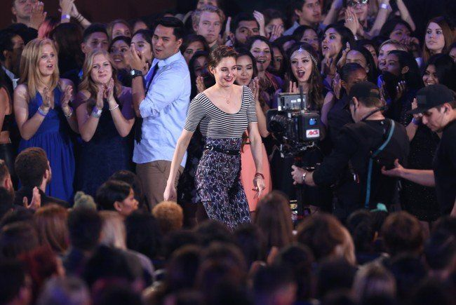Shailene Woodley bekam drei MTV Movie Awards.