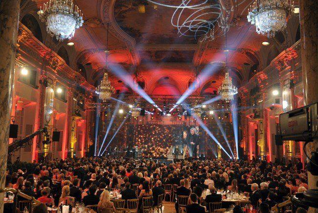 Glanz und Glamour am 25. April in der Wiener Hofburg und in ORF 2
