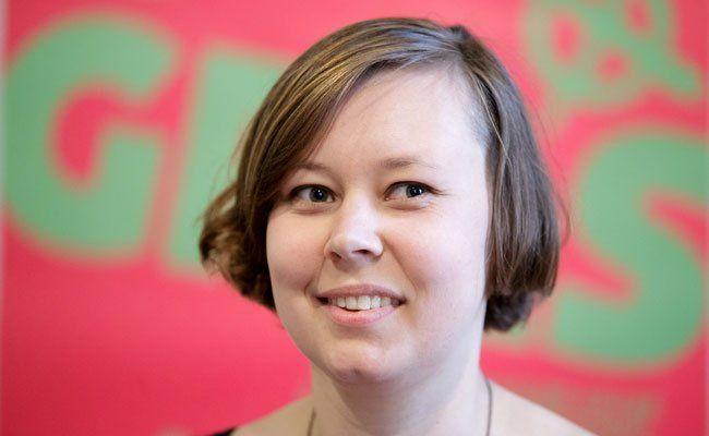 Die Grünen und Alternative StudentInnen (GRAS) Spitzenkandidatin Meryl Haas.