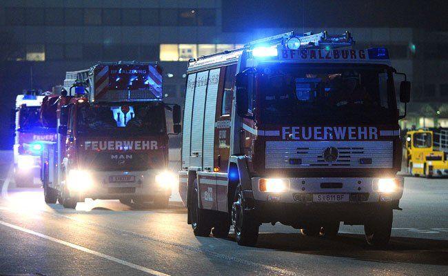 Am Montagabend kam es zu einem Brand in Wien-Floridsdorf.