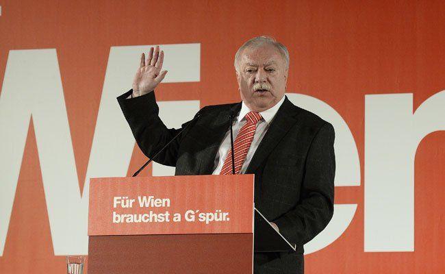 Spürbarer SPÖ-Parteitag: Häupl stellt sich am Samstag der Wiederwahl
