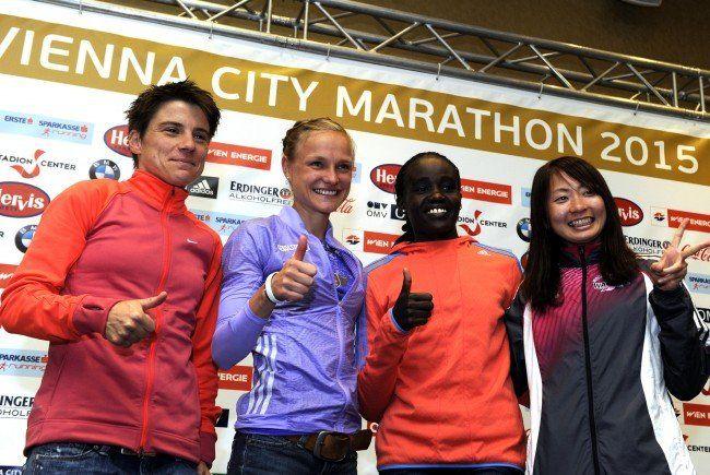 Das sind die Favoritinnen beim Wien-Marathon 2015.