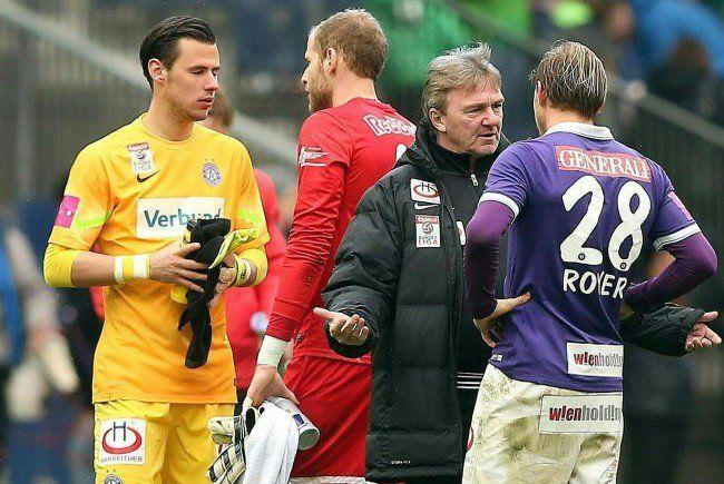 Die Stimmen zum Spiel nach der Niederlage von Austria Wien gegen Red Bull Salzburg.