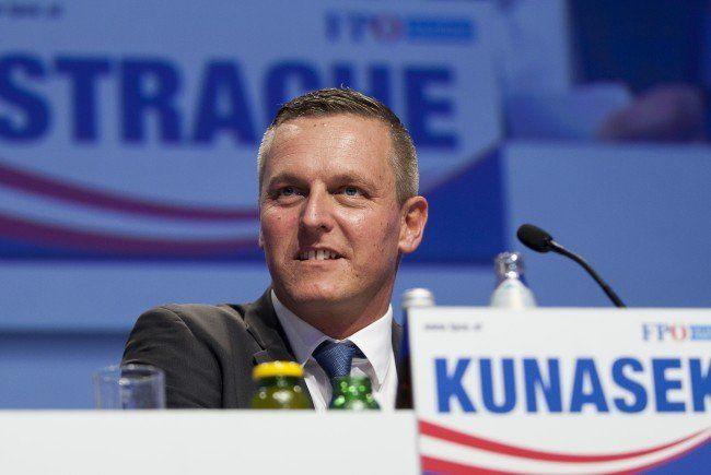 Mario Kunasek ist der FPÖ-Spitzenkandidat bei der steirischen Landtagswahl 2015.