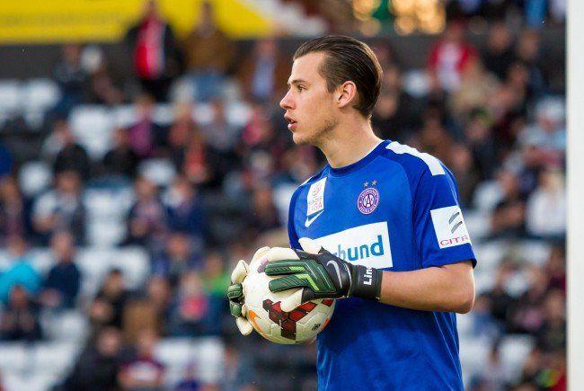 Austria Wien-Goalie Heinz Lindner fällt gegen den SV Grödig aus.
