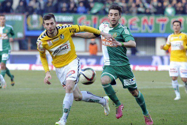 LIVE-Ticker zum Spiel SV Ried gegen SK Rapid Wien ab 16.00 Uhr.