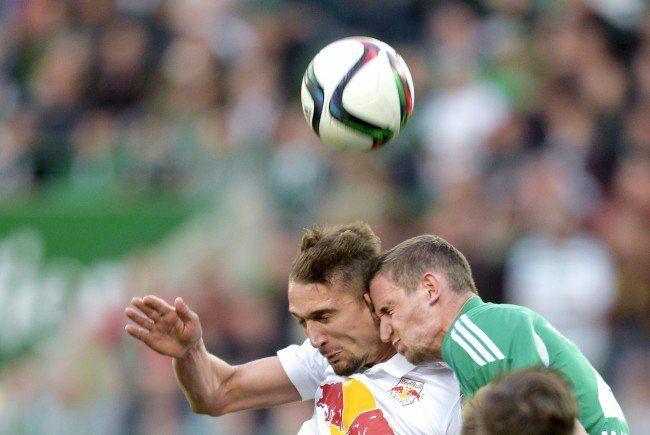 Rapid hat gegen Salzburg den Ausgleich erzielt