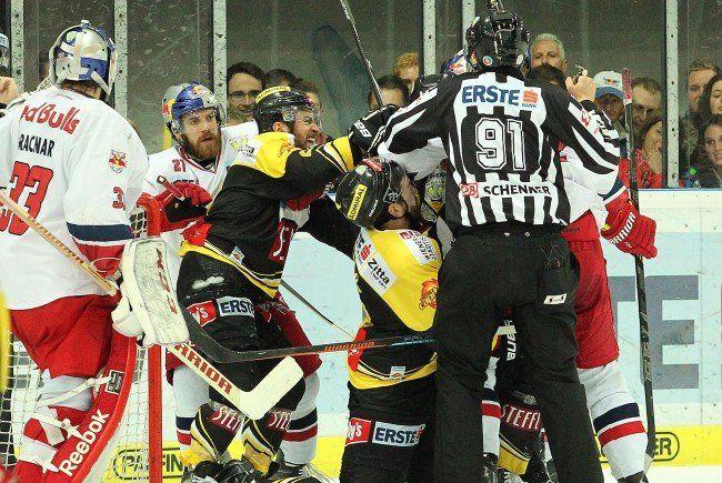 Salzburg gewinnt gegen die Vienna Capitals