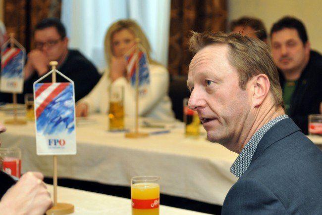 Familie und Sicherheit sind die Hauptthemen beim Wahlkampf der FPÖ Burgenland.