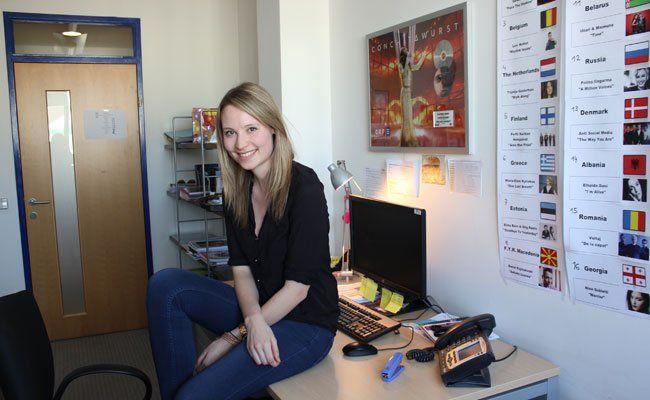 Anna Weinacht ist beim ESC als Assistant Show Producer tätig.