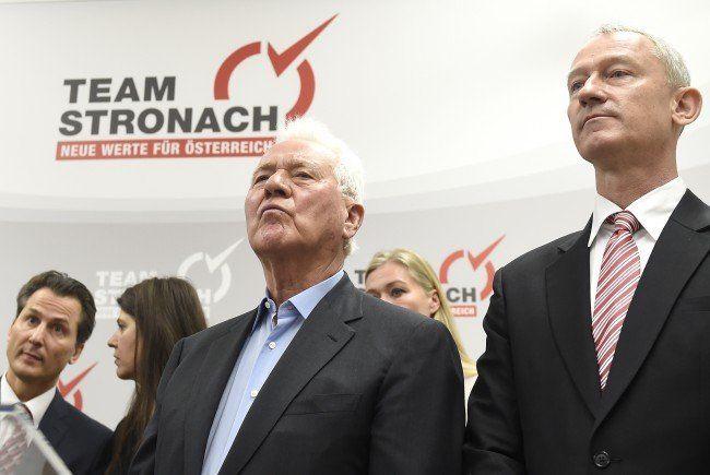Team Stronach entscheidet sich gegen Wolfgang Auer als Spitzenkandidat