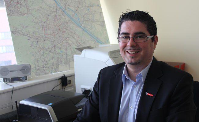 Mathias Cremer ist bei den Wiener Linien für den ESC verantwortlich.
