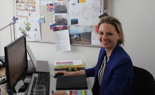 Julia Breitkopf betreut den Eurovision Youth Contest.