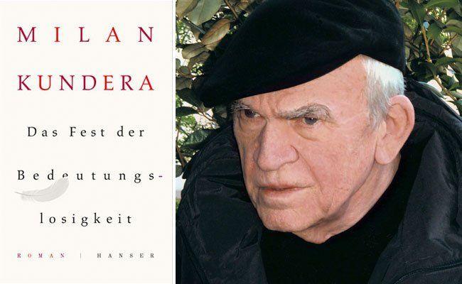 Ein neues Buch von Milan Kundera ist auf Deutsch erschienen