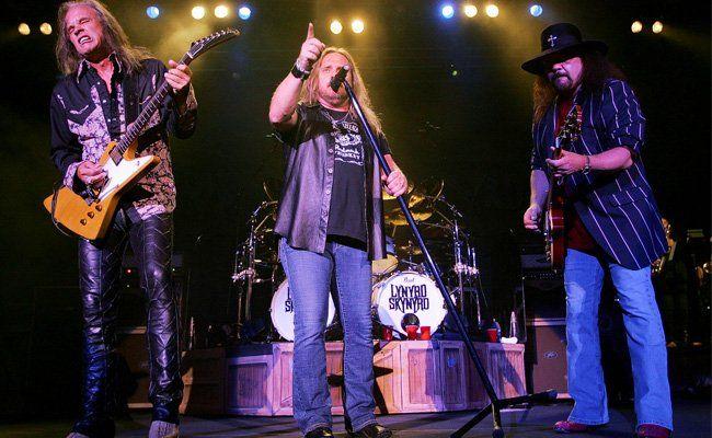 """40 Jahre nach """"Sweet Home Alabama"""" sind Lynyrd Skynyrd live immer noch äußerst lebendig. Hier bei einem Auftritt in Nashville"""