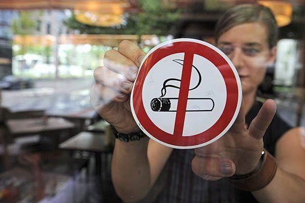 Das vollkommene Rauchverbot in der Gastronomie ist auf Schiene