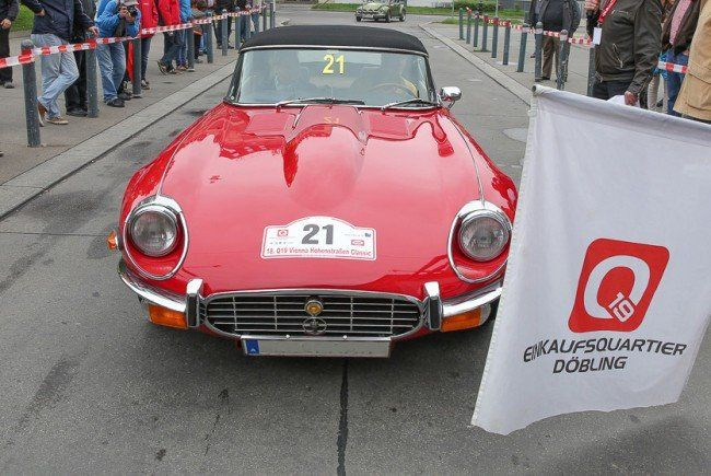 Oldtimer-Rallye im Q19. Bild: Katharina Schiffl