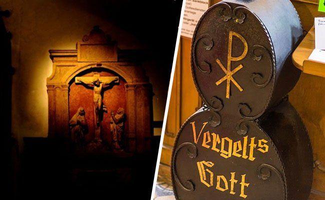 Erzürnte Glaubensgemeinschaft hielt Opferstock-Diebe in Wien fest