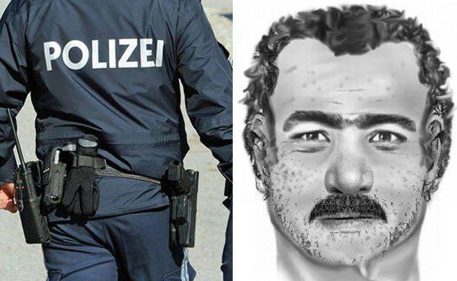 Die Polizei sucht nach dem Täter via Phantombild.