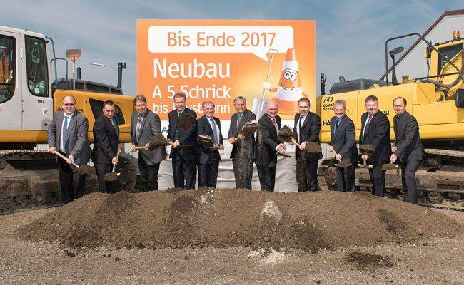 2017 soll der neue Autobahnabschnitt eröffnet werden.