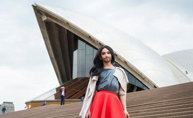 Conchita Wurst ist auf Promo-Tour in Australien.