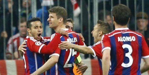 Bayern nach Gala im Halbfinale - Barca ohne Probleme gegen Paris