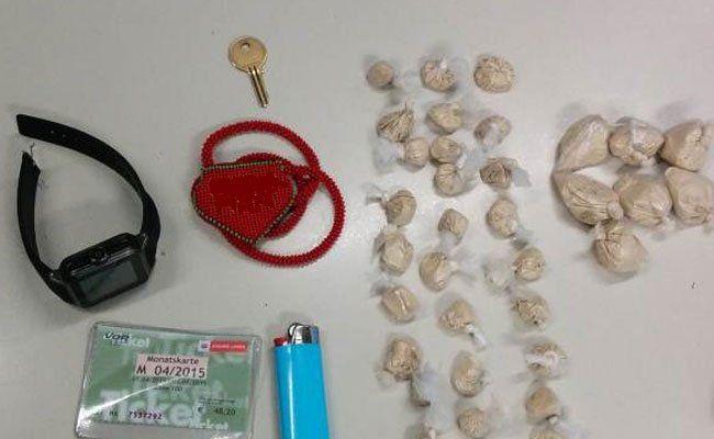 Eine größere Menge an Heroin wurde bei dem 20-Jährigen sichergestellt.