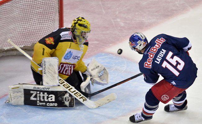 Erneut konnten sich die Capitals gegen Salzburg nicht durchsetzen.