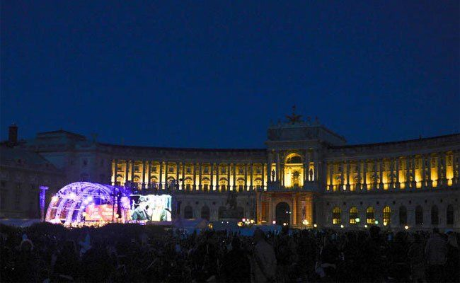 Das Fest der Freude findet wieder am Wiener Heldenplatz statt.