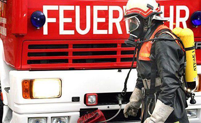 Auf dem Areal des Wirtschaftshofes von Laxenburg ist am Samstagnachmittag ein Haufen Grünschnitt in Brand geraten.