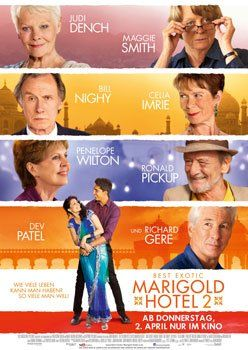 Best Exotic Marigold Hotel 2 – Trailer und Informationen zum Film
