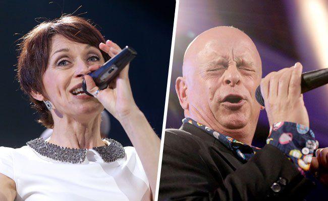 Unter anderem sind Bettina Soriat und Gary Lux bei dem Konzert aufgetreten.