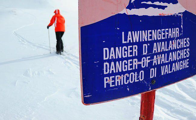 In den niederösterreichischen Alpen ist die Lawinengefahr groß.
